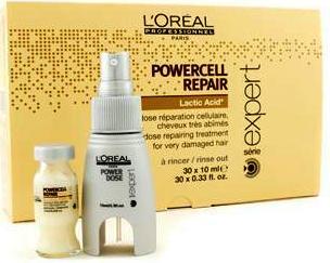 L'Oréal Professionnel Power Repair Lipidium Lactic Acid (30x10ml) - LRL-5E025770 μαλλιά θεραπείες ταλαιπωρημένα μαλλιά