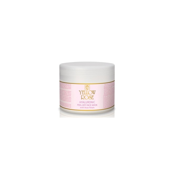 Yellow Rose Hyaluronic Peel-Off Face Mask With Rose Petals (150gr)