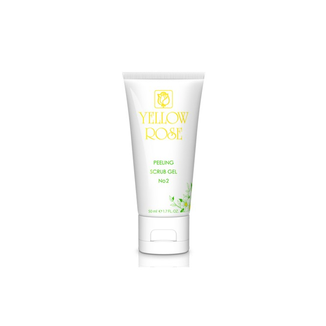 Yellow Rose Peeling Scrub Gel No2