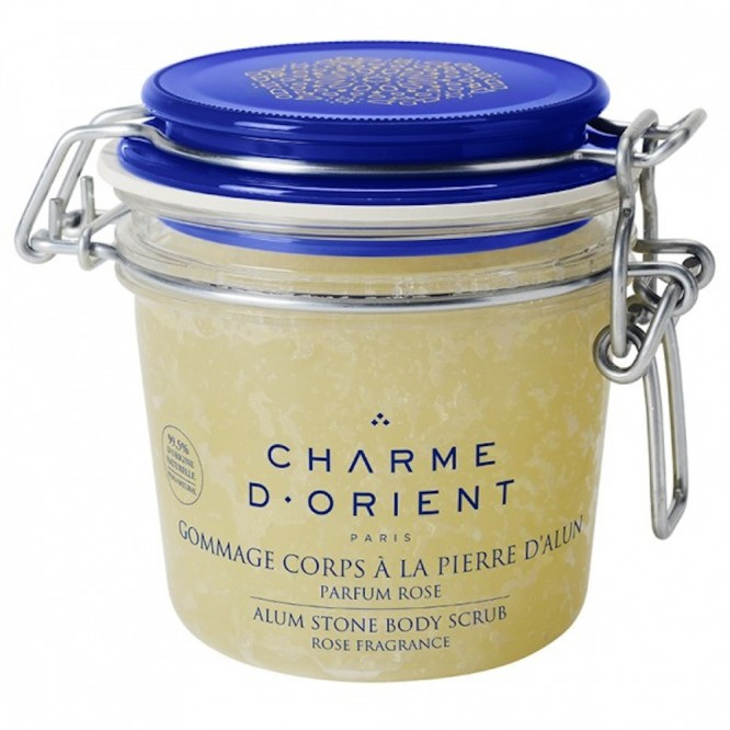 Charme d'Orient Alum Stone Scrubs With Honey & Royal Jelly (300gr)