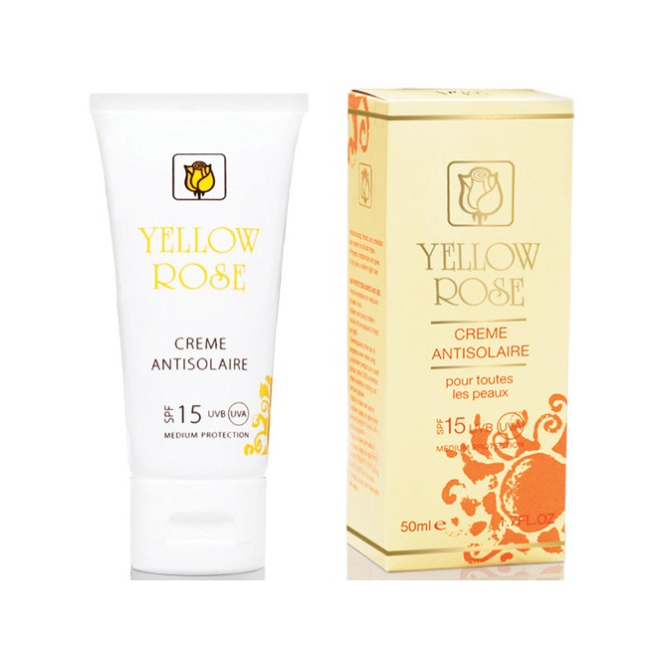 Yellow Rose Creme Antisolaire (UVA/UVB) SPF 15