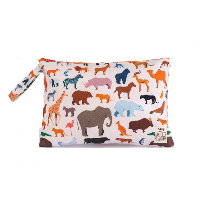 Bleecker & Love Cotton Bag Zoo Small