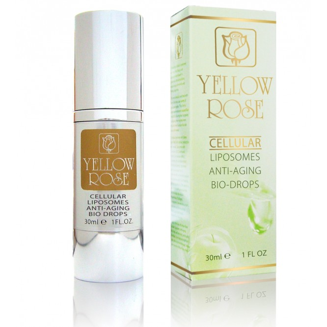 Yellow Rose Cellular Liposomes Anti Aging Bio-Drops (30ml)