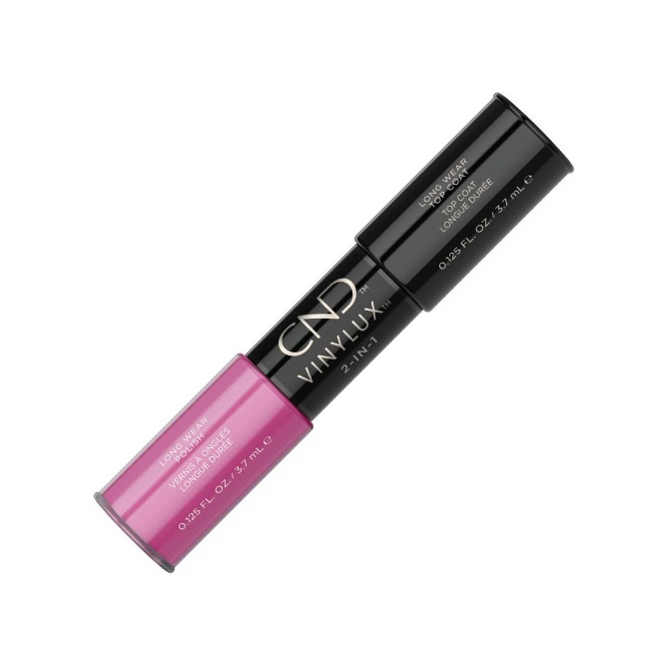 Vinylux 2-in-1 - Hot Pop Pink (Color 3.7ml + Vinylux Top Coat 3.7ml)