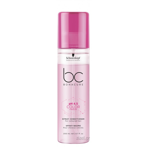 Schwarzkopf Professional BC Bonacure pH 4.5 Color Freeze Spray Conditioner (200ml)
