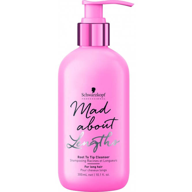 Schwarzkopf Professional Mad About Lengths - Root to Tip Cleanser (300ml)