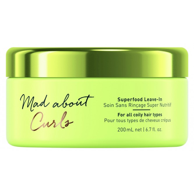Schwarzkopf Professional Mad About Curls – Superfood Leave-in (200ml)