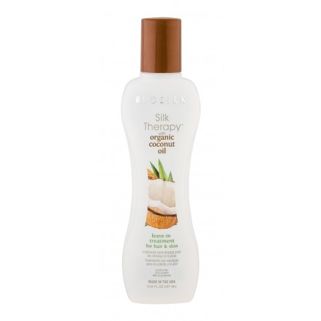 Biosilk - Silk Therapy Organic Coconut Oil Leave-In Treatment for Hair & Skin (167ml)