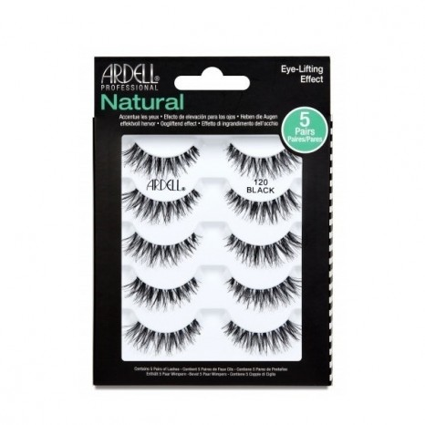 Ardell Natural 120 Black - 5 Pairs