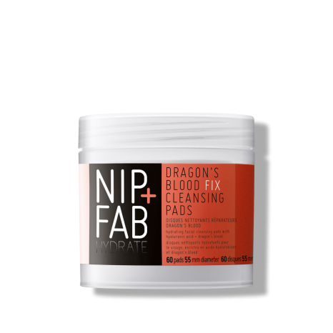 Nip+Fab - Dragon's Blood Fix Cleansing Pads (60pads)