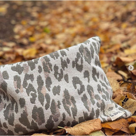 Bleecker & Love Cotton Bag Leopard Camouflage Small