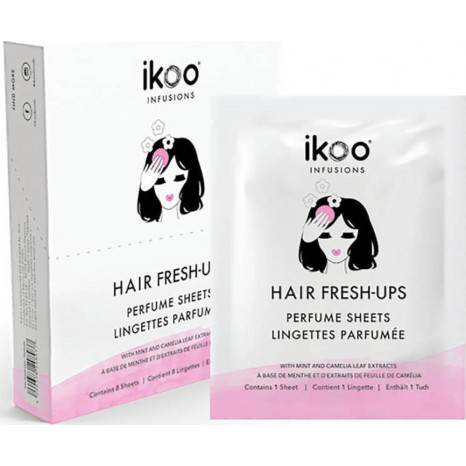 ikoo Ιnfusions Hair Fresh-Ups Hair Perfume Sheets (8 φακελάκια)