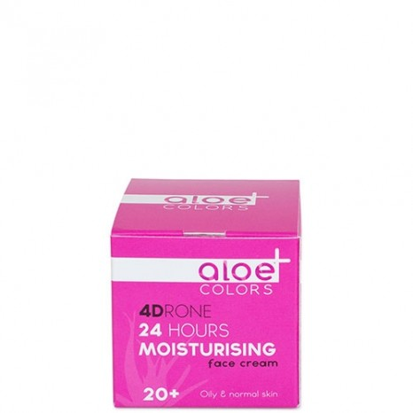 Aloe+ Colors - 24h Moisturising Face Cream (50ml)