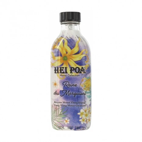 Hei Poa - Monoi Oil Reine des Marquises - Ylang-Ylang (100ml)