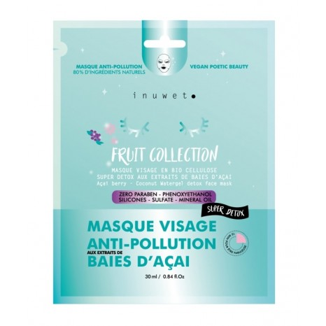 Inuwet Fruit Collection Anti-Pollution Face Masque (30ml)