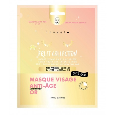 Inuwet Fruit Collection Anti-Age Face Masque (30ml)