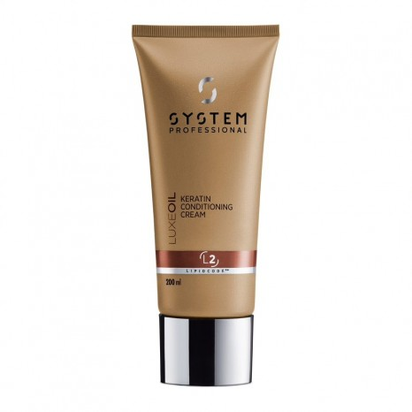System Professional LuxeOil Keratin Conditioning Cream L2 (200ml)