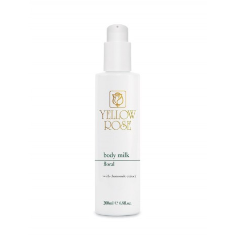 Yellow Rose Body Milk Floral (200ml)