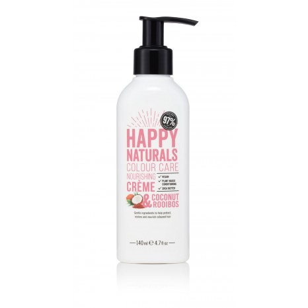 Happy Naturals Coconut & Rooibos Colour Care Nourishing Crème (150ml)