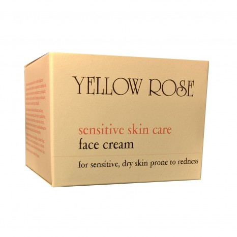 Yellow Rose Sensitive Skin Care Face Cream (50ml)