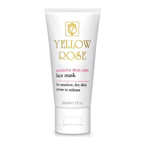 Yellow Rose Sensitive Skin Care Face Mask (50ml)