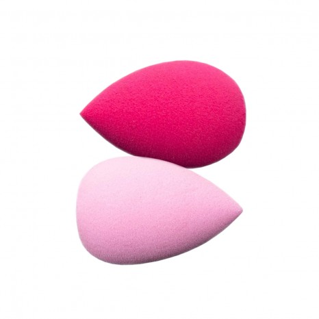 Tools for Beauty - Duo Mini Makeup Sponges - Pink