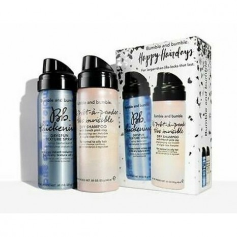 Bumble & bumble - Happy Hairdays Volume Dry Set (Prêt-à-powder Très Invisible Dry Shampoo 40ml & Thickening DrySpun Finish Spray 40ml)