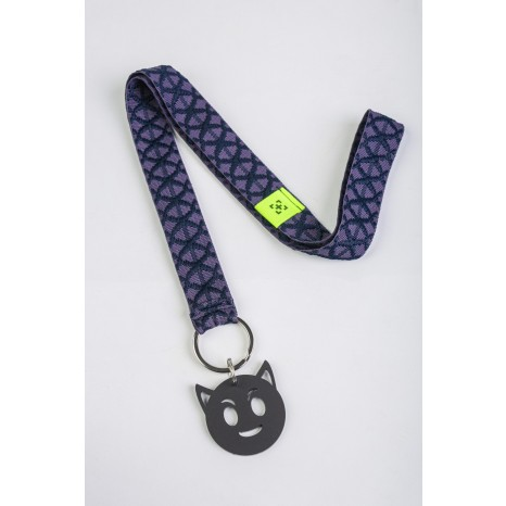 Add Style - Lanyard Naughty But Nice Black