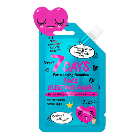 7DAYS Your Emotions Today - Sleeping Face Mask (25ml)