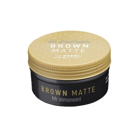 HHS Brown Matte Clay Wax (100ml)