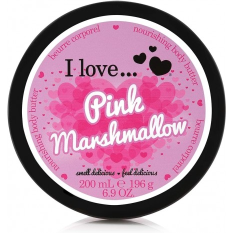 I Love Cosmetics - Pink Marshmallow Body Butter (200ml)