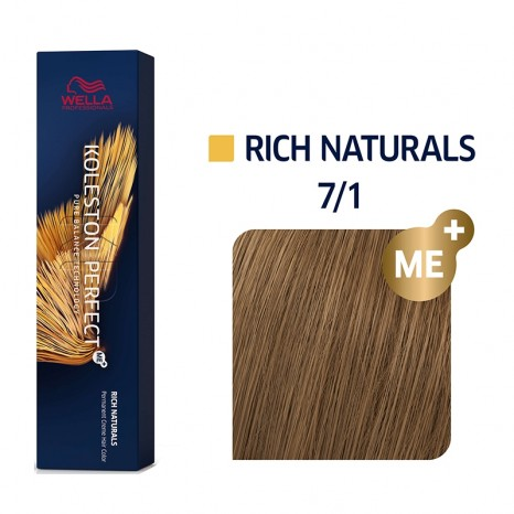Wella Professionals Koleston Perfect Me+ Rich Naturals 7/1 - Ξανθό Σαντρέ (60ml)