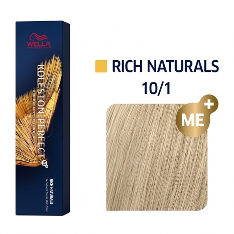 Wella Professionals Koleston Perfect Me+ Rich Naturals 10/1 - Κατάξανθο Σαντρέ (60ml)
