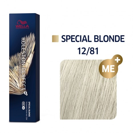 Wella Professionals Koleston Perfect Me+ Special Blonde 12/81 - Special Blonde Περλέ Σαντρέ (60ml)