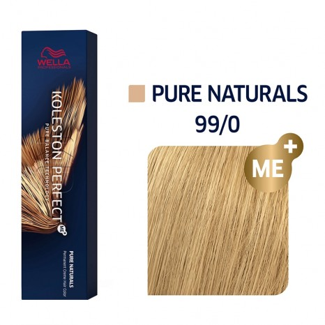 Wella Professionals Koleston Perfect Me+ Pure Naturals 99/0 - Ξανθό Πολύ Ανοιχτό (60ml)