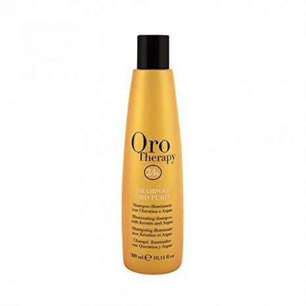 Fanola Oro Therapy 24k - Oro Puro Illuminating Shampoo with Keratin & Argan (300ml)