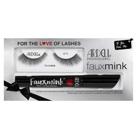 Ardell Faux Mink 811 Kit + Mascara