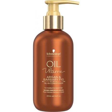 Schwarzkopf Professional Oil Ultime Argan & Barbary Fig Oil-In-Conditioner (200ml)