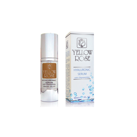 Yellow Rose Hyaluronic Serum With Oligopeptides (30ml)