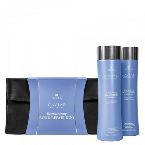 Alterna CAVIAR Anti-Aging® Restructuring Bond Repair Holiday Duo (Shampoo 250ml & Conditioner 250ml)
