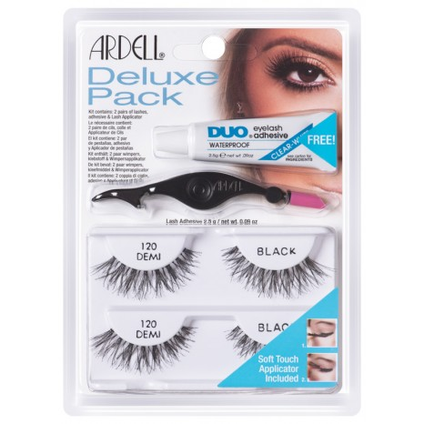 Ardell Deluxe Pack 120 Demi Black