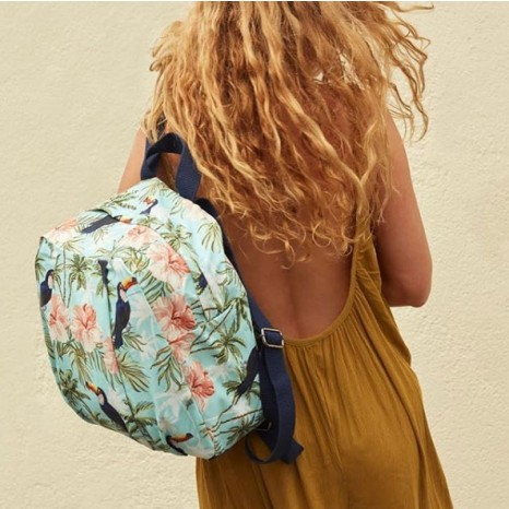 Bleecker & Love Fondo Azul Backpack