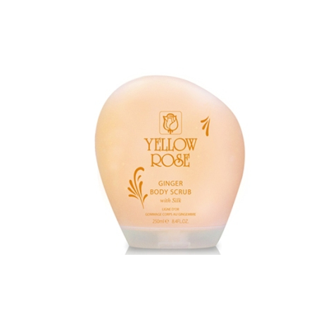 Yellow Rose Ginger Body Scrub (250ml)