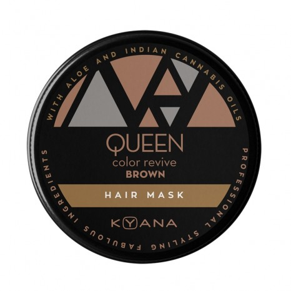 KYANA Queen Color Revive Brown Hair Mask (100ml)
