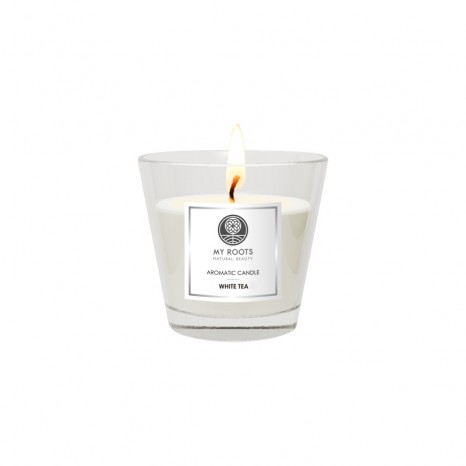 My Roots - Aromatic Candle mini - White Tea (64gr)