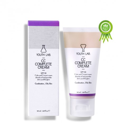 Youth Lab CC Complete Cream SPF30 - Oily Skin (50ml)