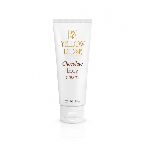 Yellow Rose Chocolate Body Cream (250ml)