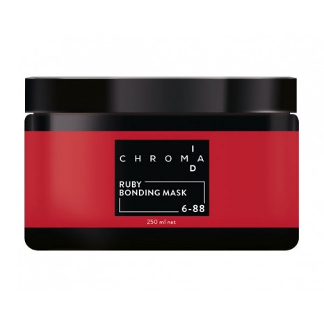 Schwarzkopf Professional ChromaID Care Bonding Color Mask - Ruby (250ml)