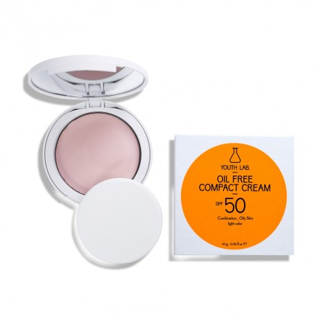 Youth Lab Oil Free Compact Cream SPF50 - Light (10gr)