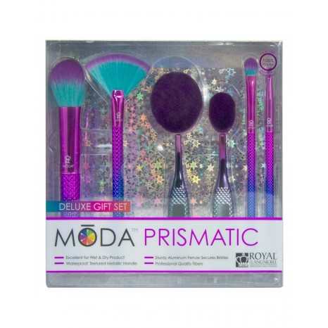 Royal & Langnickel - Moda Deluxe Gift Kit 6pc Prismatic